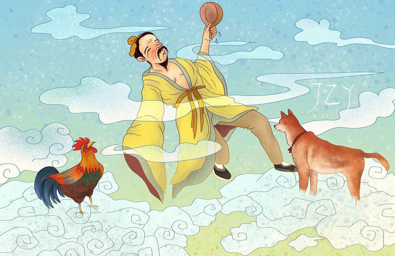 一人得道,鸡犬升天-比翼故事网